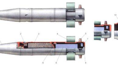 Первые танковые реактивные снаряды