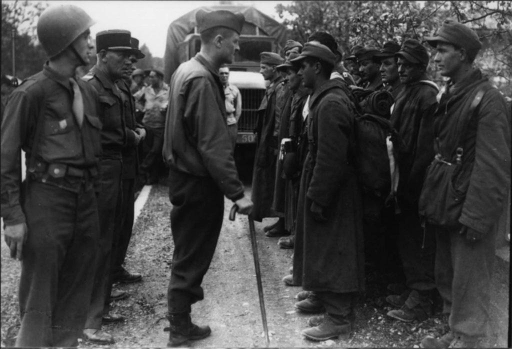 Подлый расстрел немцев генерала Месни
