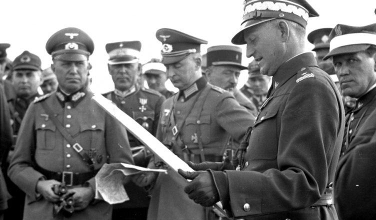Казнь немцами польского полковника Моравского