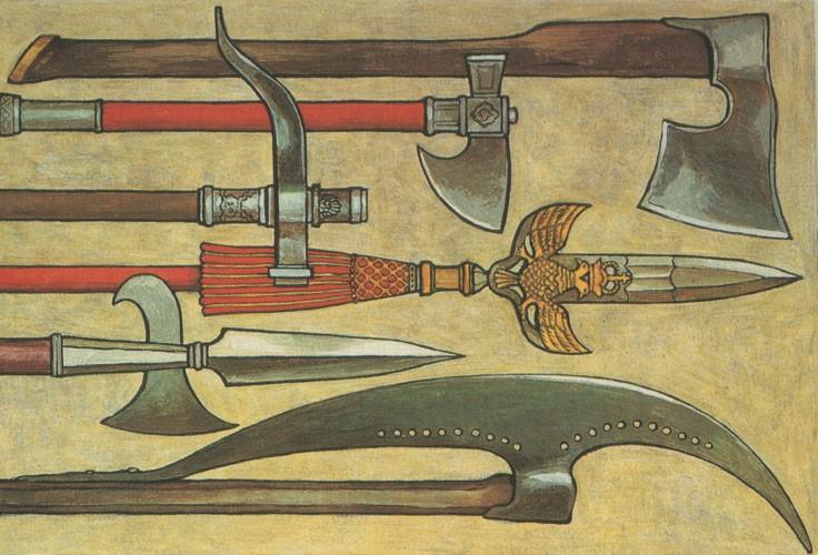 Каким оружием торговала Древняя Русь?