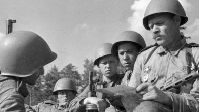 """Как ловили """"попутку"""" почтальоны на войне"""