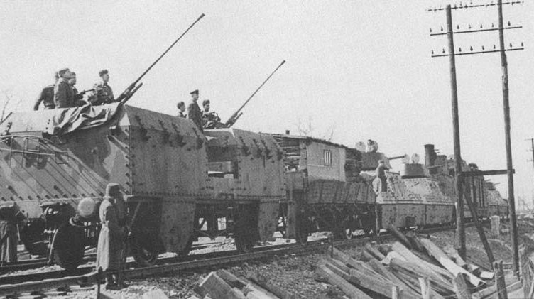 Бронепоезда на Сталинградском фронте