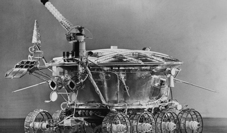 вездеход, способный передвигаться по луне