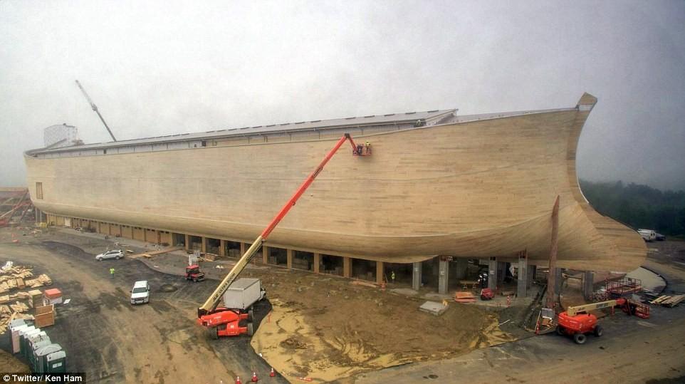 Каких размеров был Ноев Ковчег?