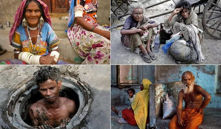Каста неприкасаемых в Индии