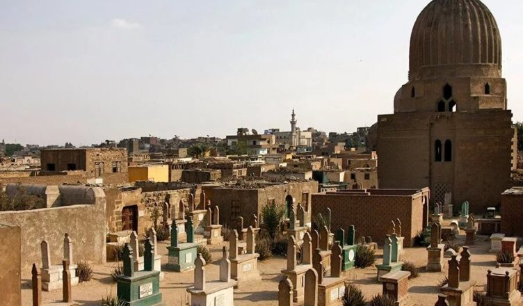 Египетский город мертвых