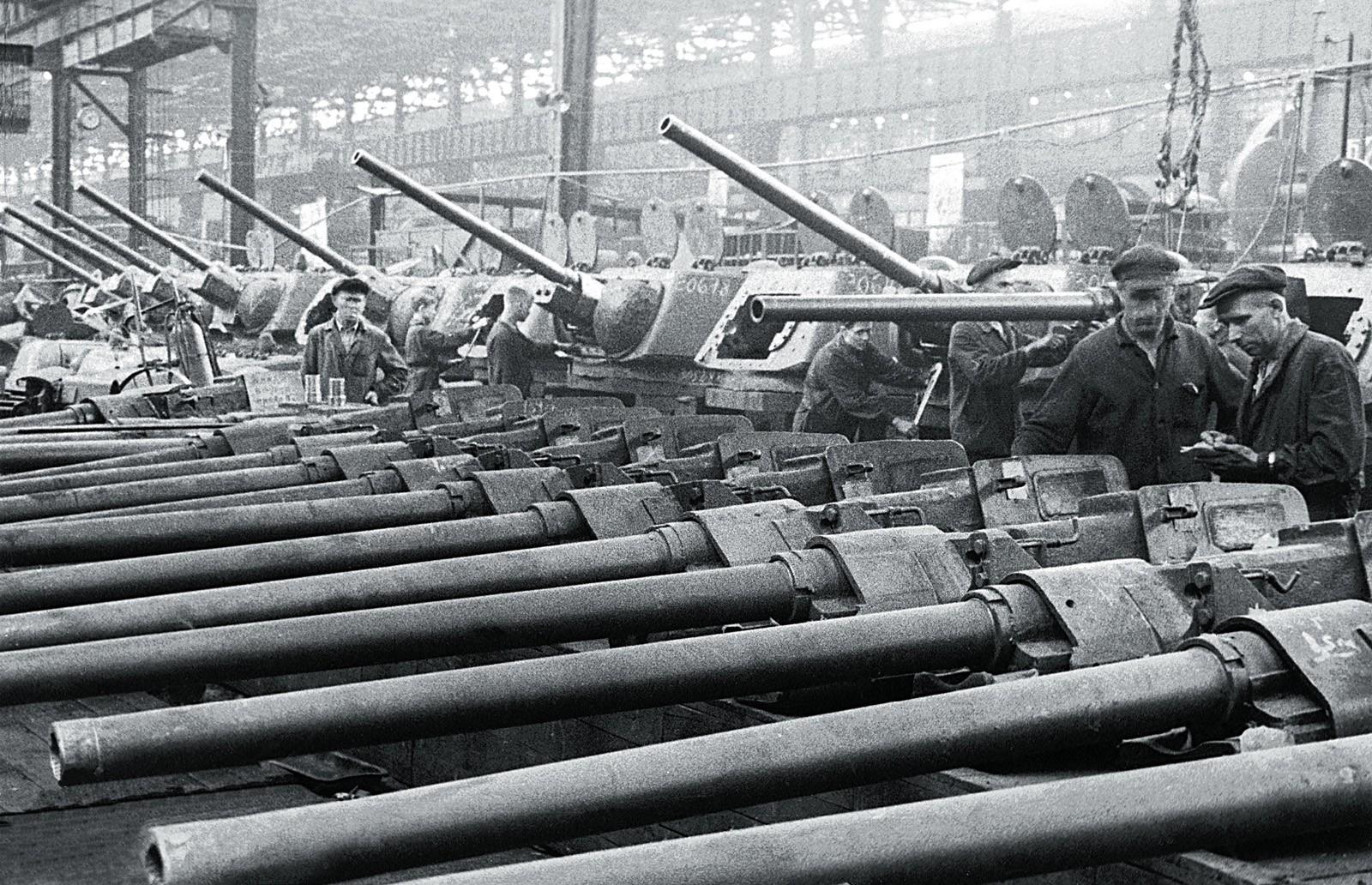 Как с помощью драчового напильника уменьшить калибр танкового снаряда