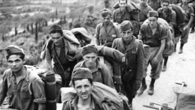 Вчера союзники - сегодня пленные: Итальянские солдаты