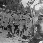 В каких условиях немцы транспортировали пленных