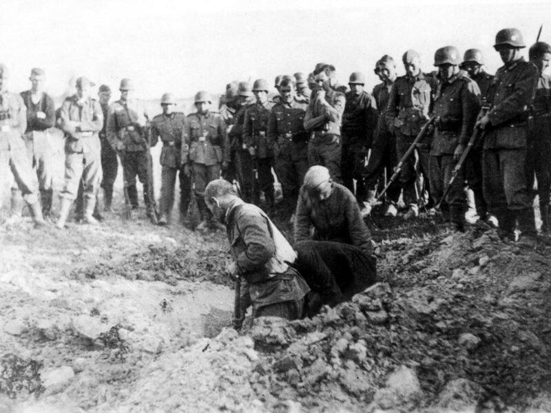 Отношение немцев к пленным инвалидам