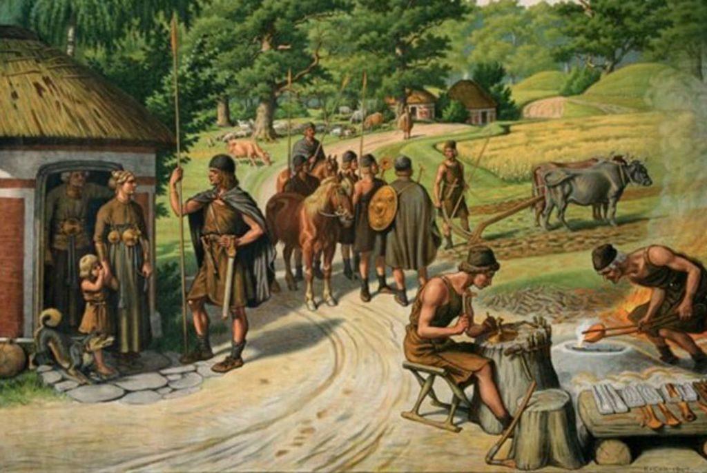 Почему бронзовый век был раньше железного?