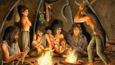Как пещерные люди приручили огонь?