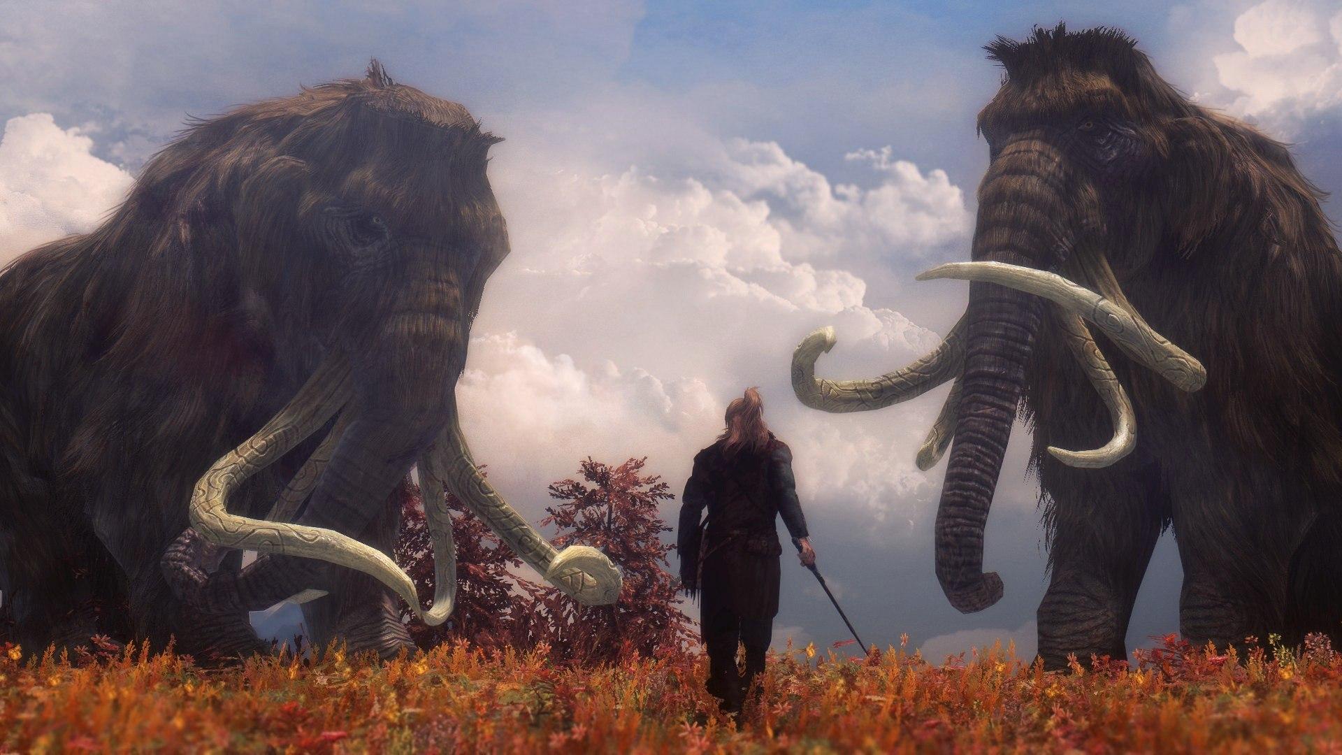 Версии вымирания мамонтов