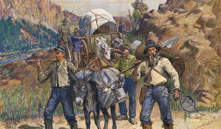 Кто разбогател во времена золотой лихорадки?