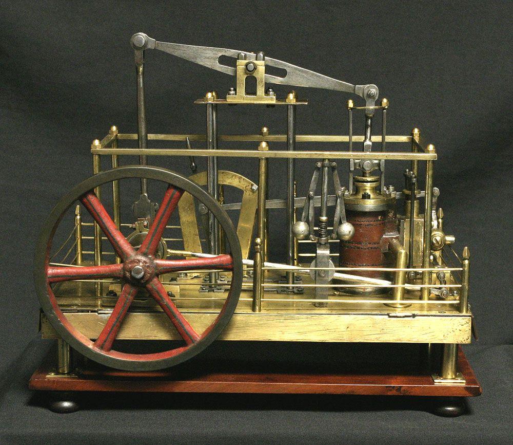 Кто открыл паровой двигатель?