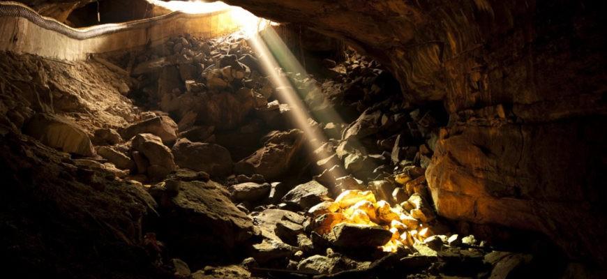 Пещера сокровищ на острове Оук