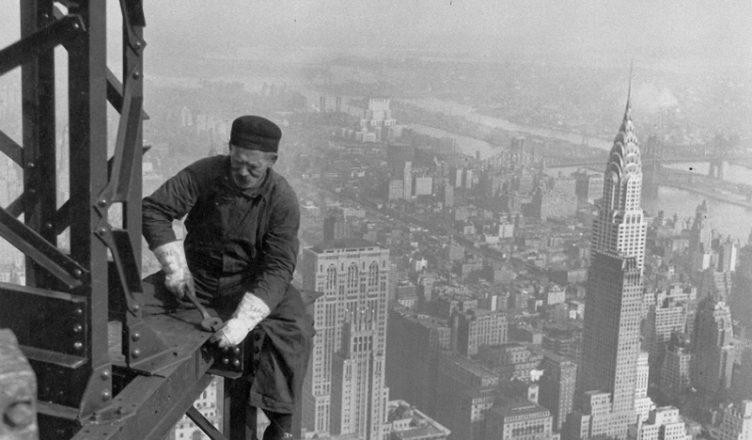 Как строили первые небоскребы