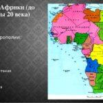 Колонии Африки