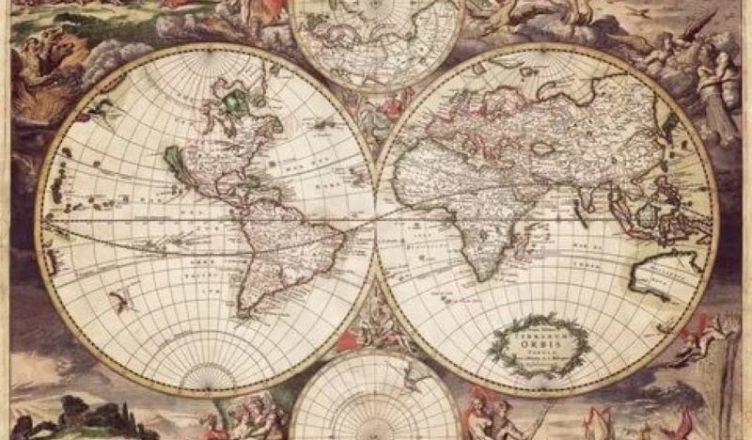 Древние карты мира