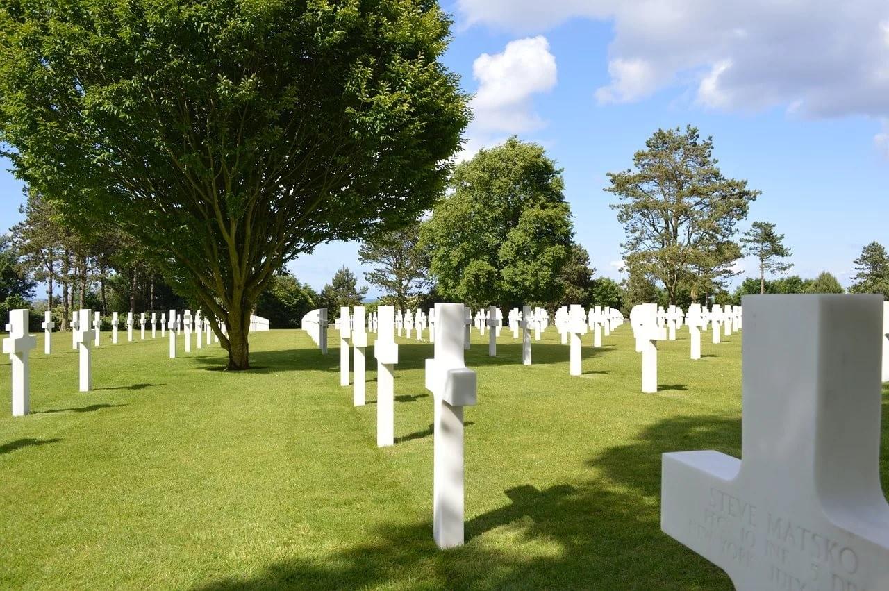 Франция. Американское кладбище и мемориал в Нормандии