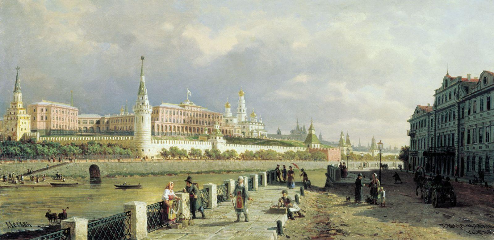 Почему в России менялись столицы