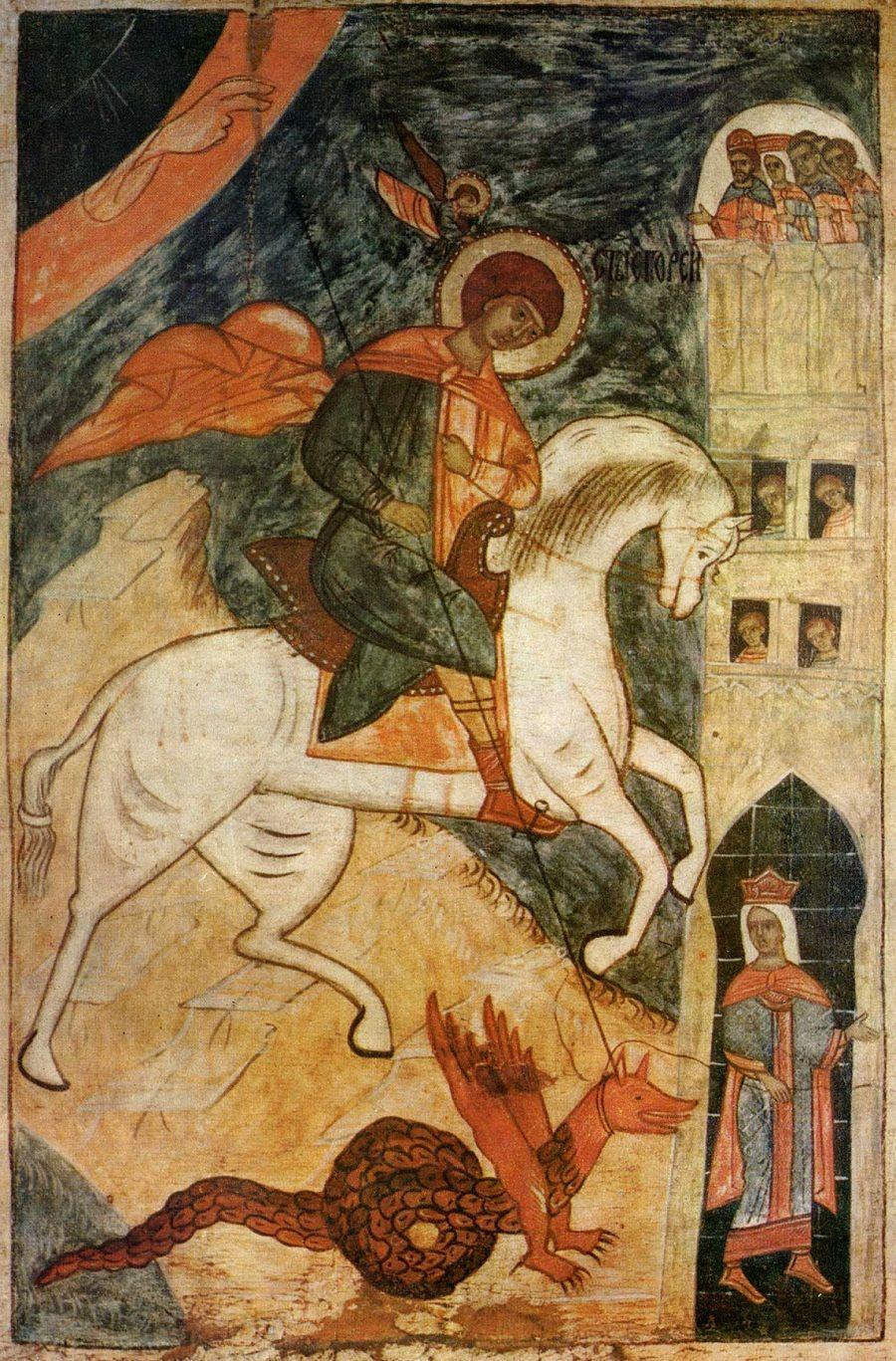 Какого змея убил Святой Георгий