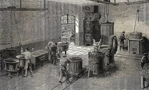 Самые первые фабрики истории