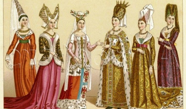 Мода средневековой Европы