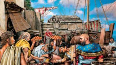 Чем торговали античные страны