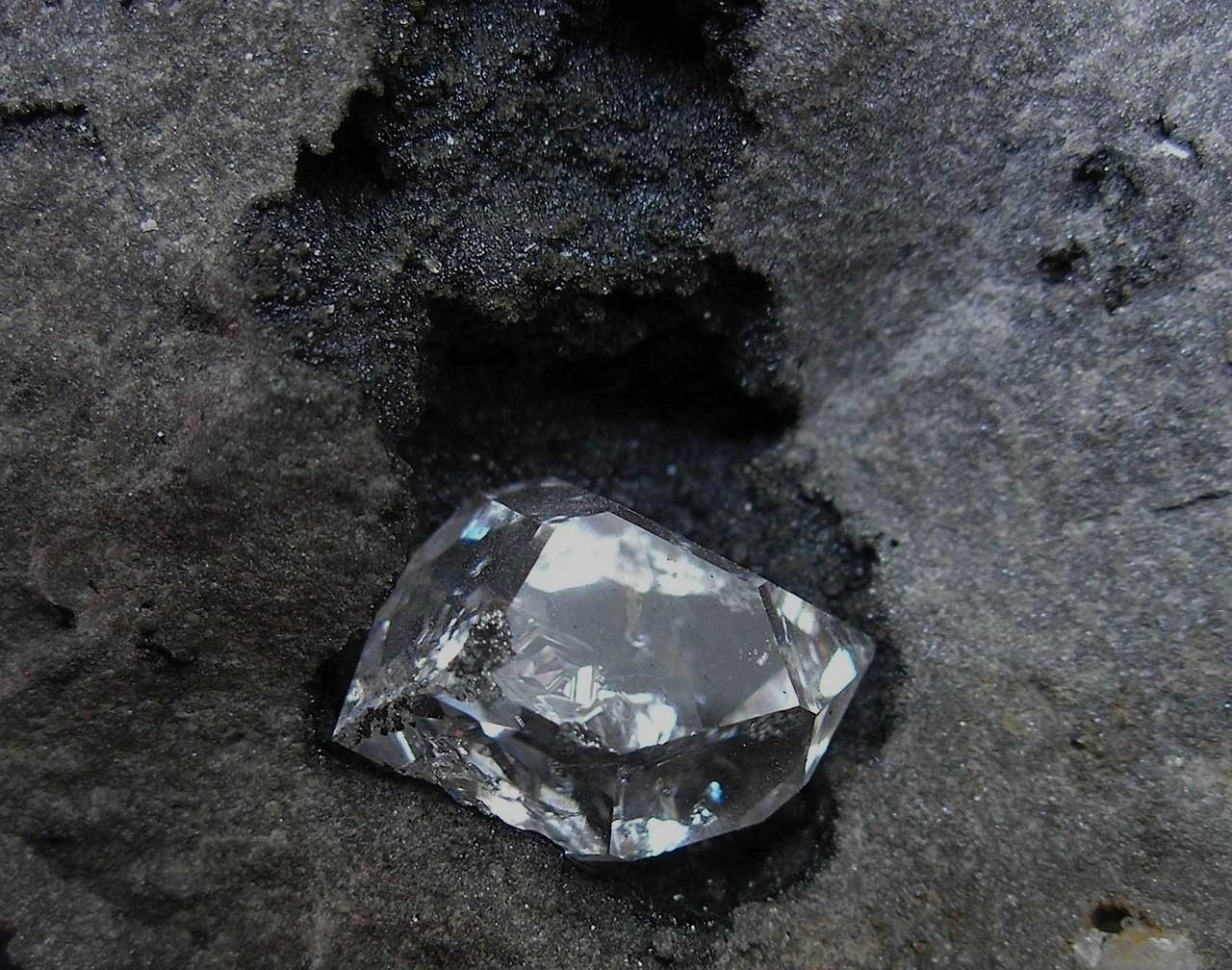 Как нашли алмазы