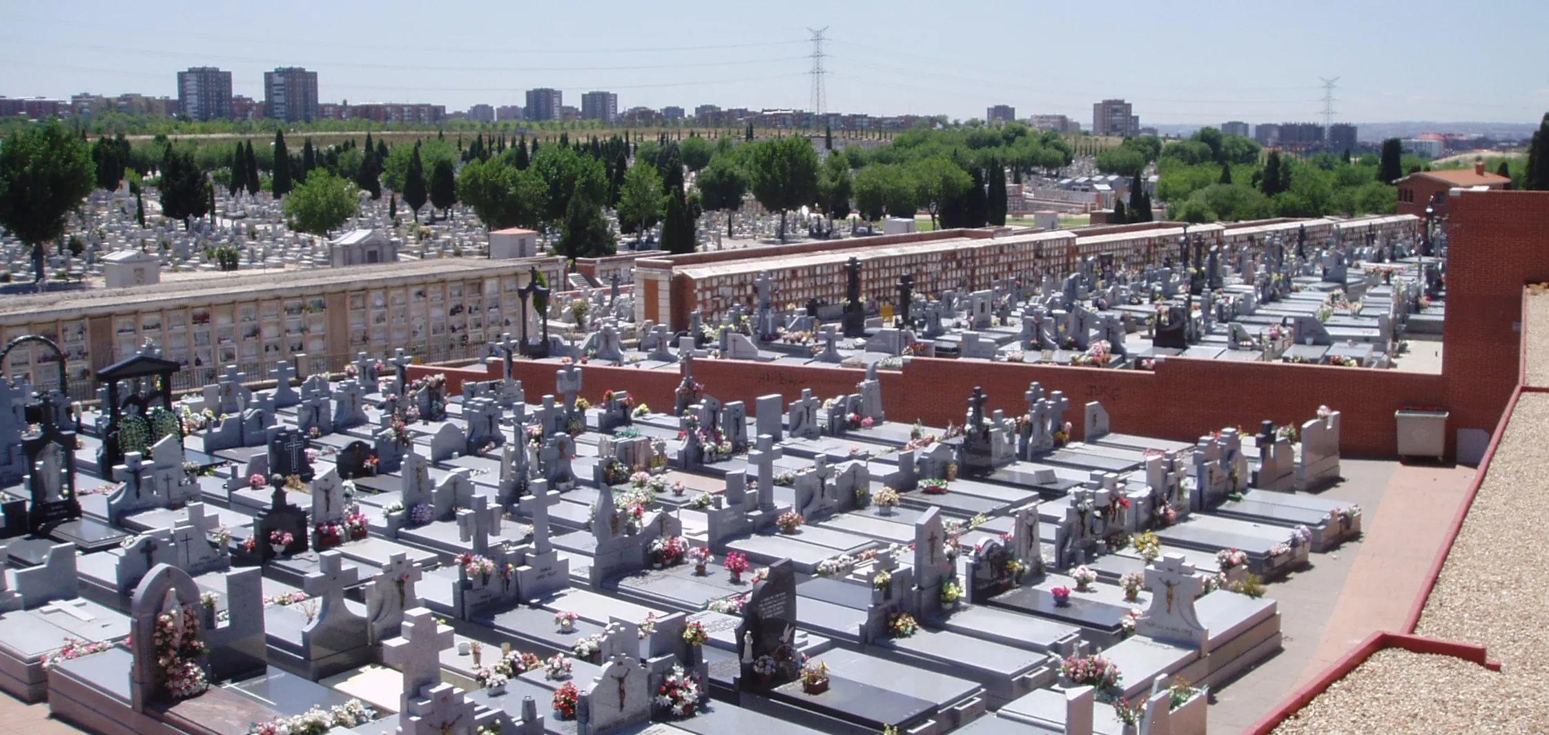 Испания. Кладбище Альмудена