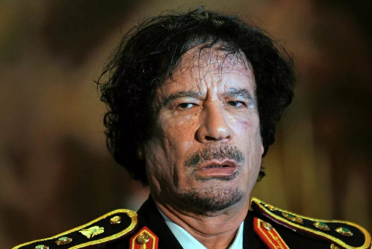 Муаммара Каддафи