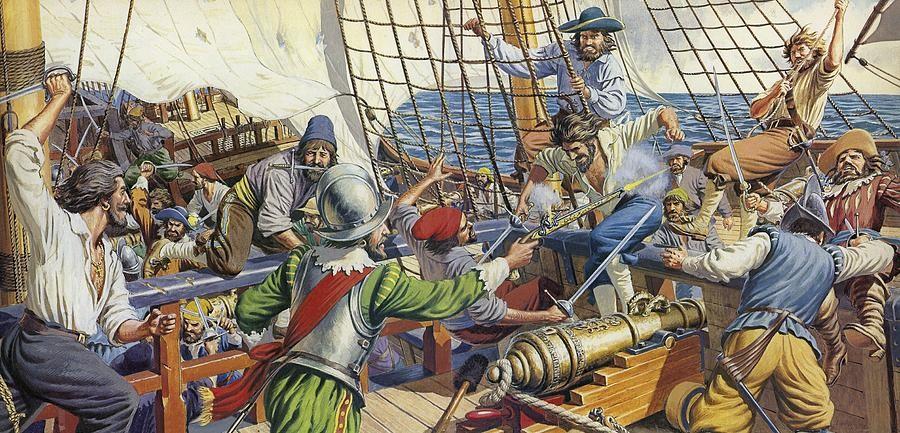 Как боролись с пиратством в разные эпохи