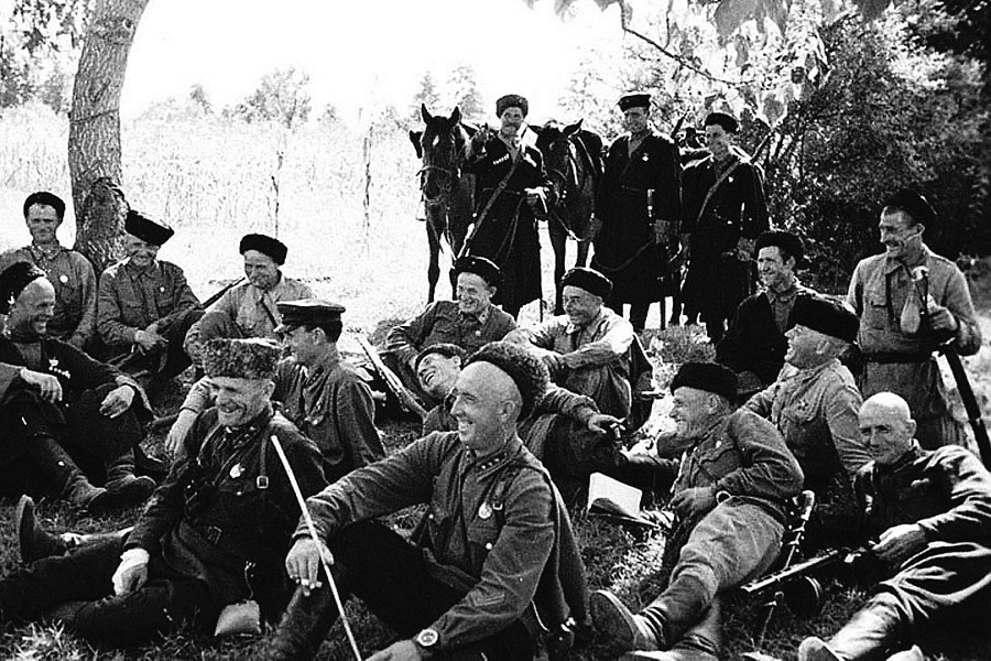 Как выглядела казачья комендатура во время войны