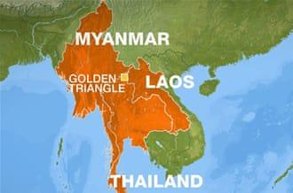 страны золотого треугольника