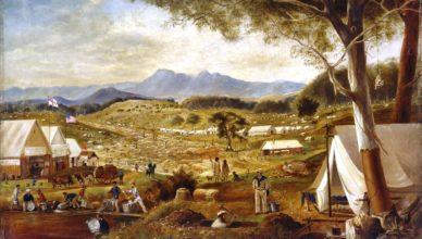Австралийские золотые лихорадки
