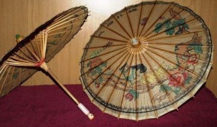 Первые зонтики появились в Египте