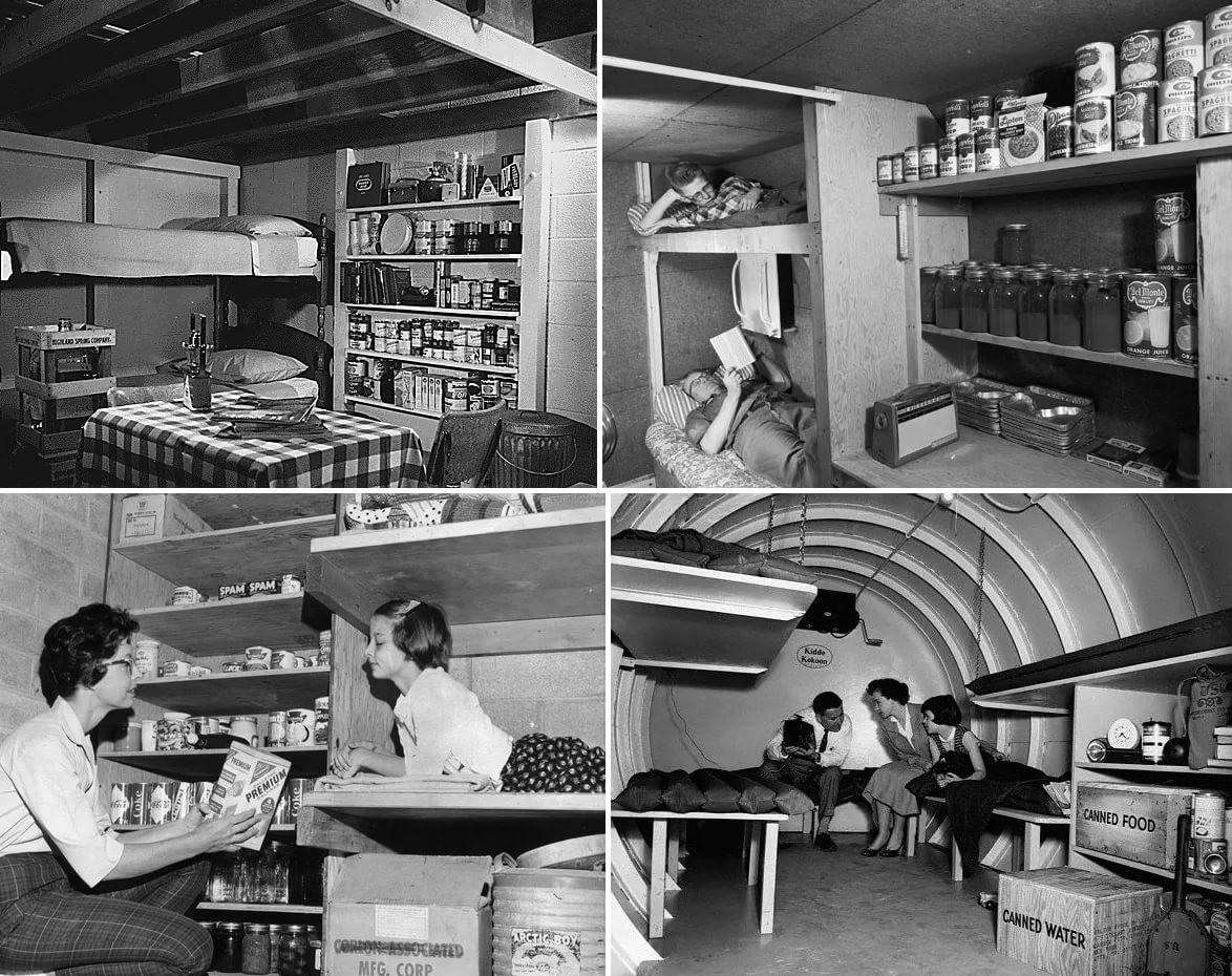 Как жители США строили бункеры в своих домах во времена Холодной войны