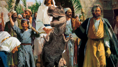 Создавал ли Бог динозавров?