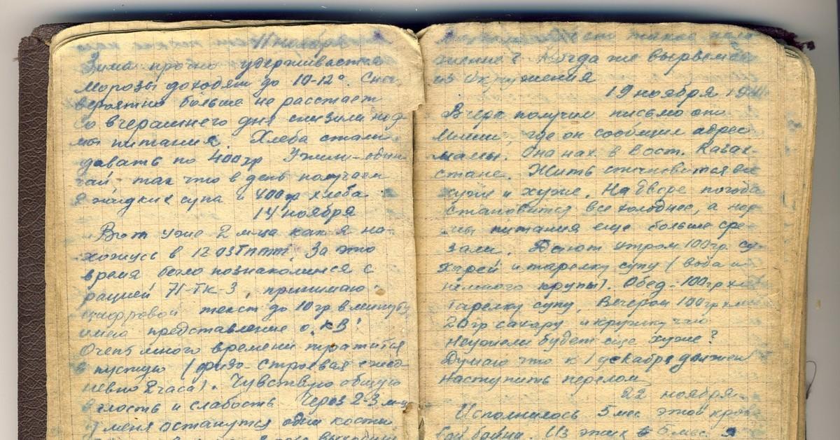 фронтовой дневник