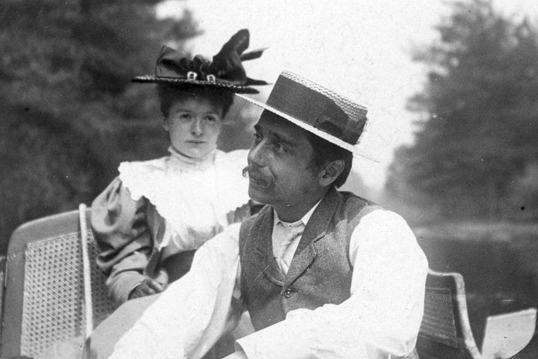 женой Герберта Уэллса стала его ученица Эми Роббинс