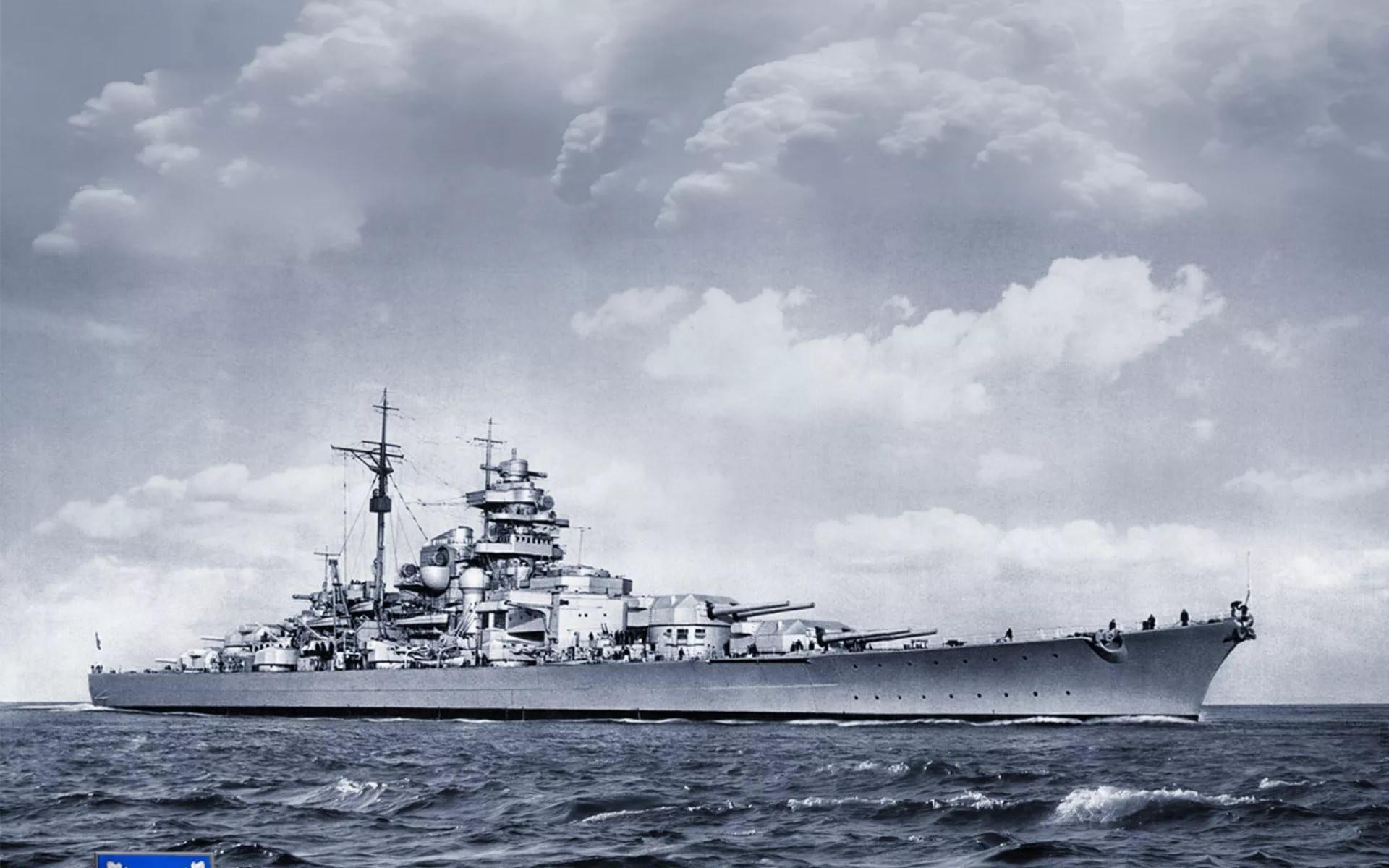 броненосец Бисмарк