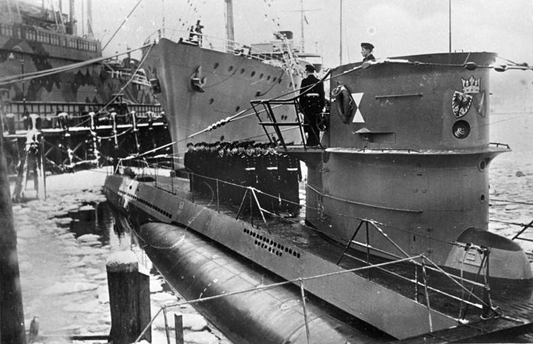 Боевой путь немецкого подводника