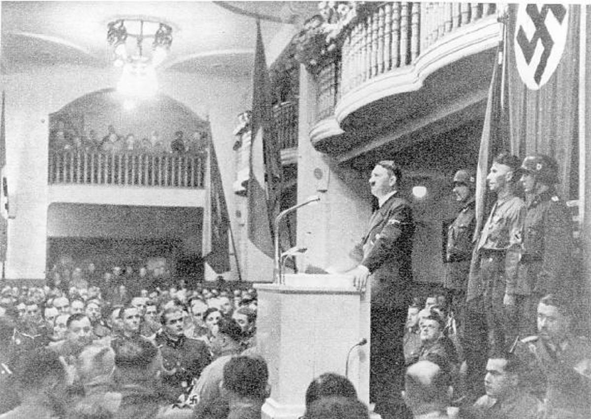 Мюнхенская пивная – 1921 год