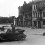 Немцы на улицах Калуги
