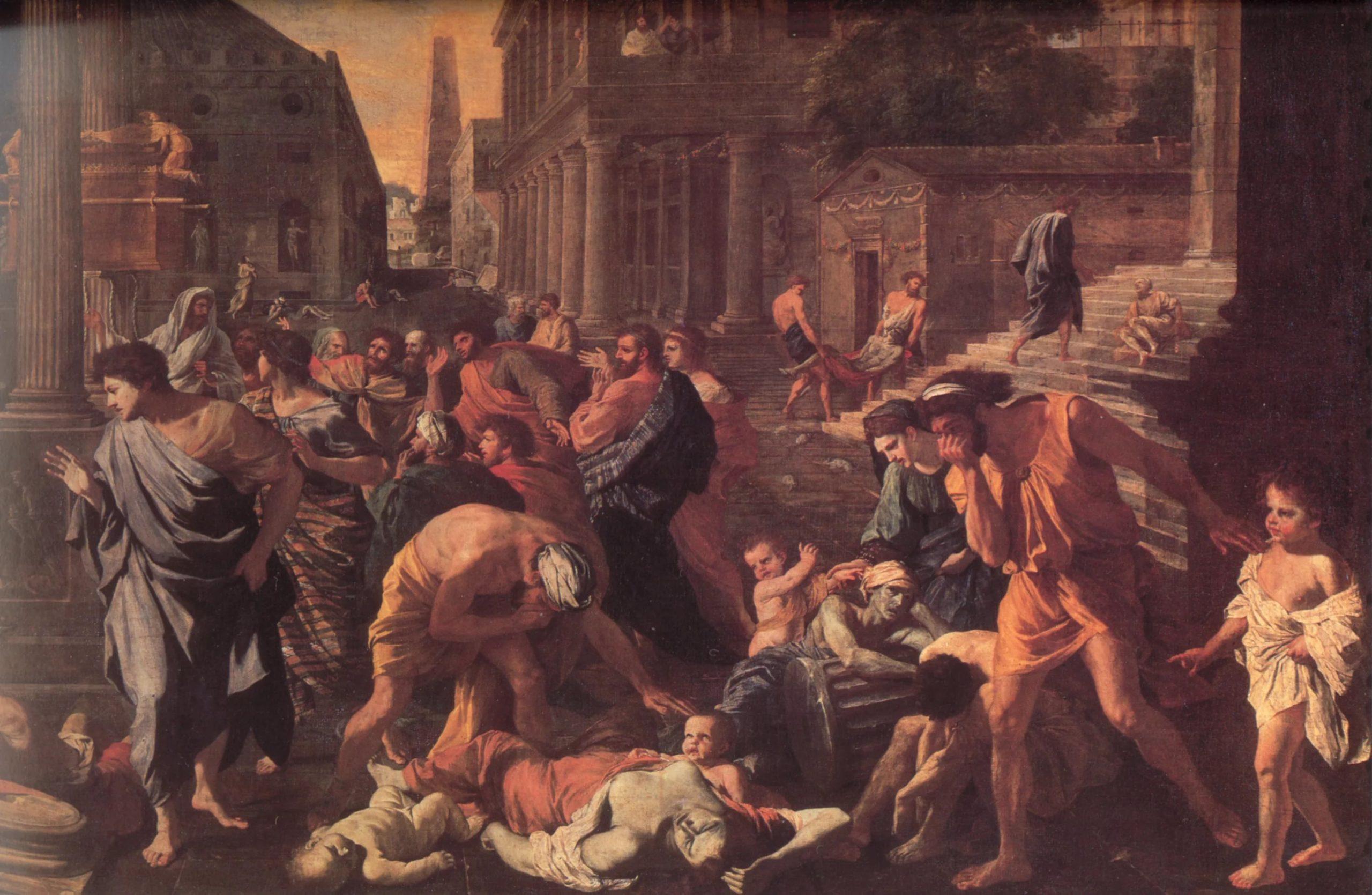 Греция 430 год до нашей эры – афинская чума
