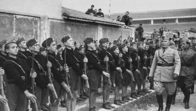 Жизнь в фашистской Италии