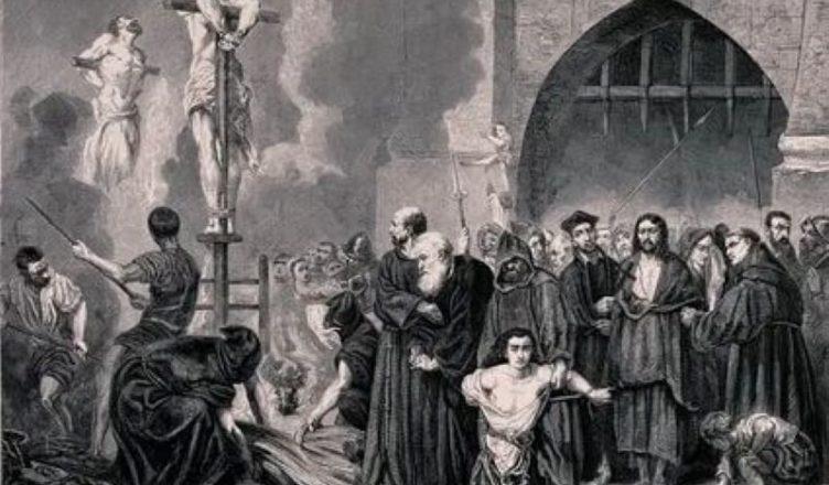 испанская инквизиция наказывала евреев