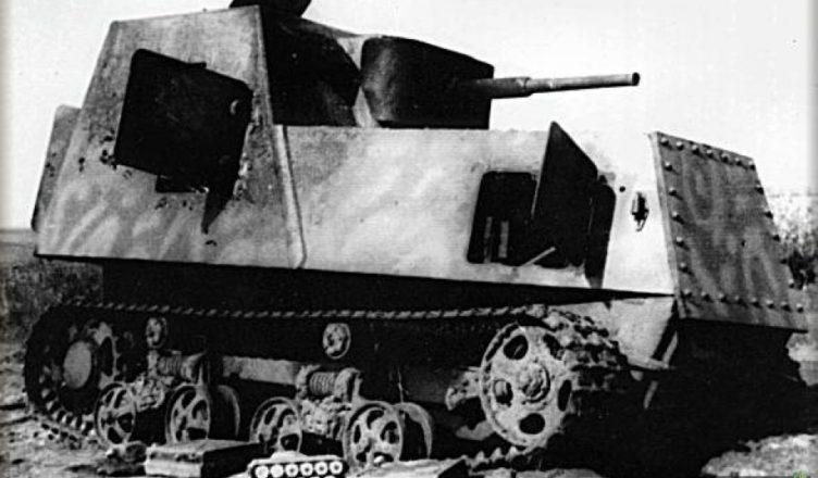 Как немцы тракторы в танки превращали