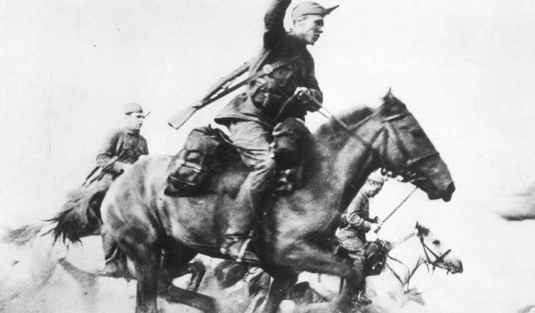 конники вступили в кровопролитный бой